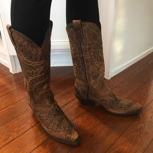 Dan Post Ladies' Leather boots size 6 1/2